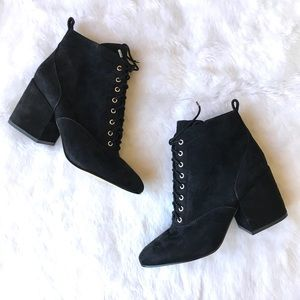 NEW Sam Edelman Tate Lace Up Bootie